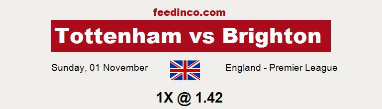 Tottenham v Brighton Prediction