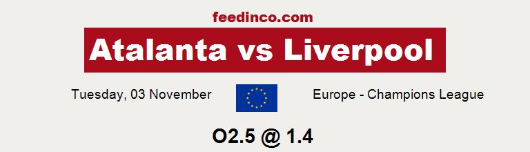 Atalanta v Liverpool Prediction