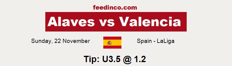 Alaves v Valencia Prediction