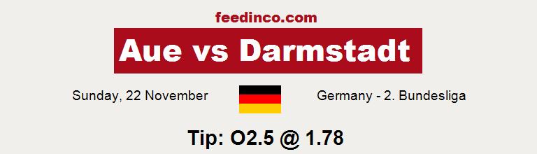 Aue v Darmstadt Prediction