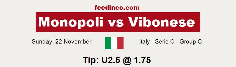 Monopoli v Vibonese Prediction