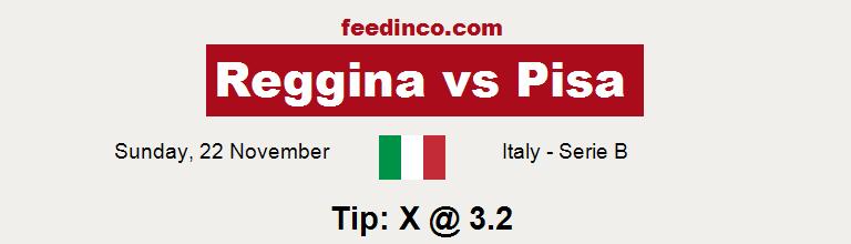 Reggina v Pisa Prediction
