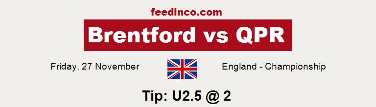 Brentford v QPR Prediction
