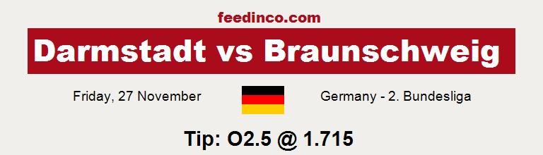 Darmstadt v Braunschweig Prediction