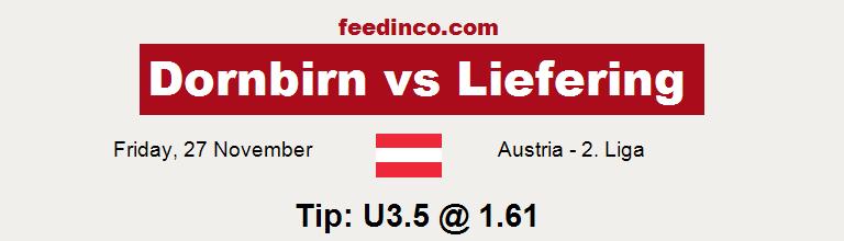 Dornbirn v Liefering Prediction