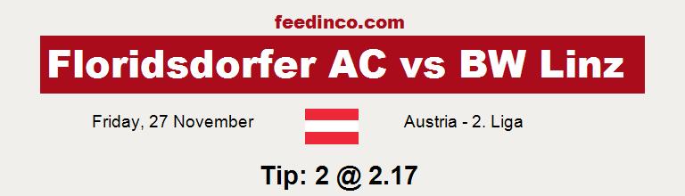 Floridsdorfer AC v BW Linz Prediction