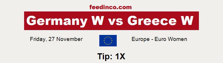 Germany W v Greece W Prediction