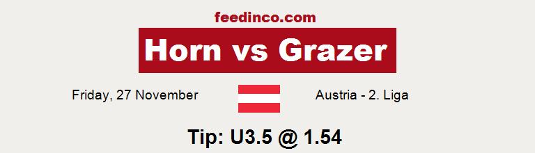 Horn v Grazer Prediction