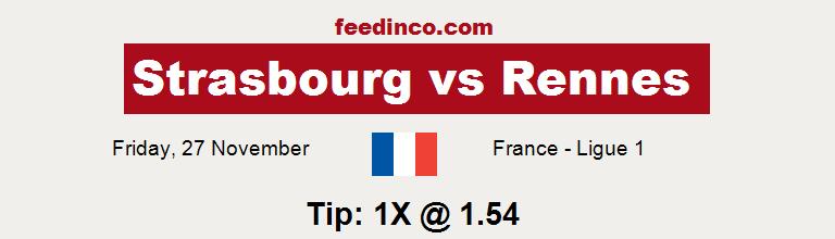 Strasbourg v Rennes Prediction