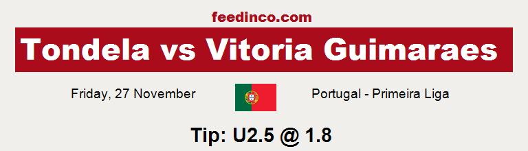 Tondela v Vitoria Guimaraes Prediction