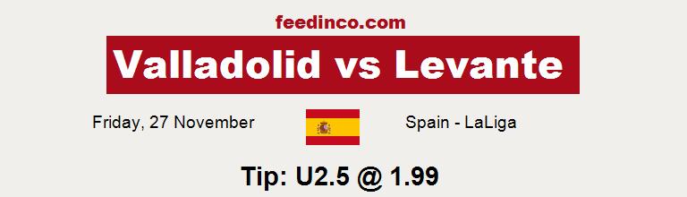 Valladolid v Levante Prediction