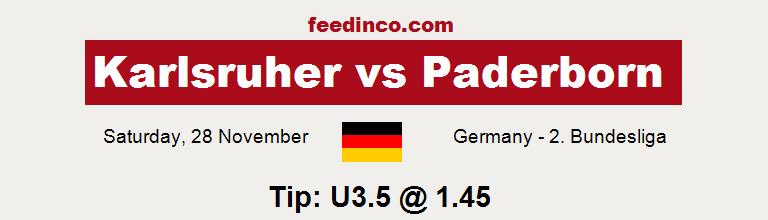 Karlsruher v Paderborn Prediction