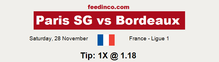Paris SG v Bordeaux Prediction