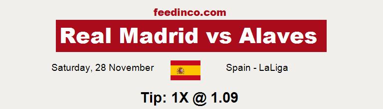 Real Madrid v Alaves Prediction