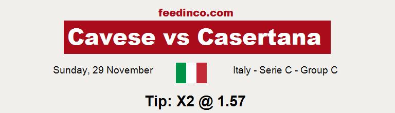 Cavese v Casertana Prediction