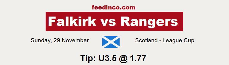 Falkirk v Rangers Prediction