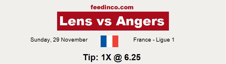 Lens v Angers Prediction
