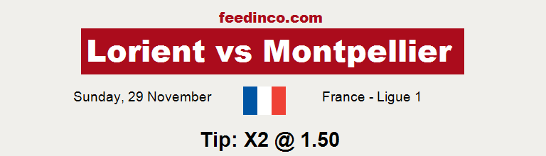 Lorient v Montpellier Prediction