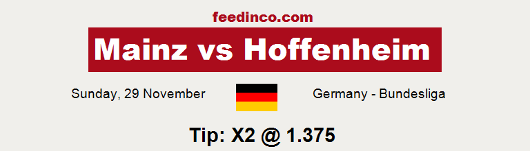 Mainz v Hoffenheim Prediction