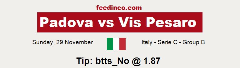 Padova v Vis Pesaro Prediction