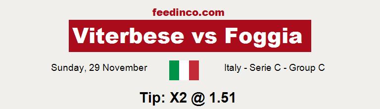 Viterbese v Foggia Prediction