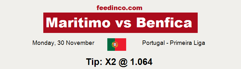Maritimo v Benfica Prediction