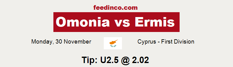 Omonia v Ermis Prediction