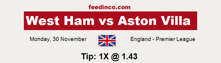 West Ham v Aston Villa Prediction