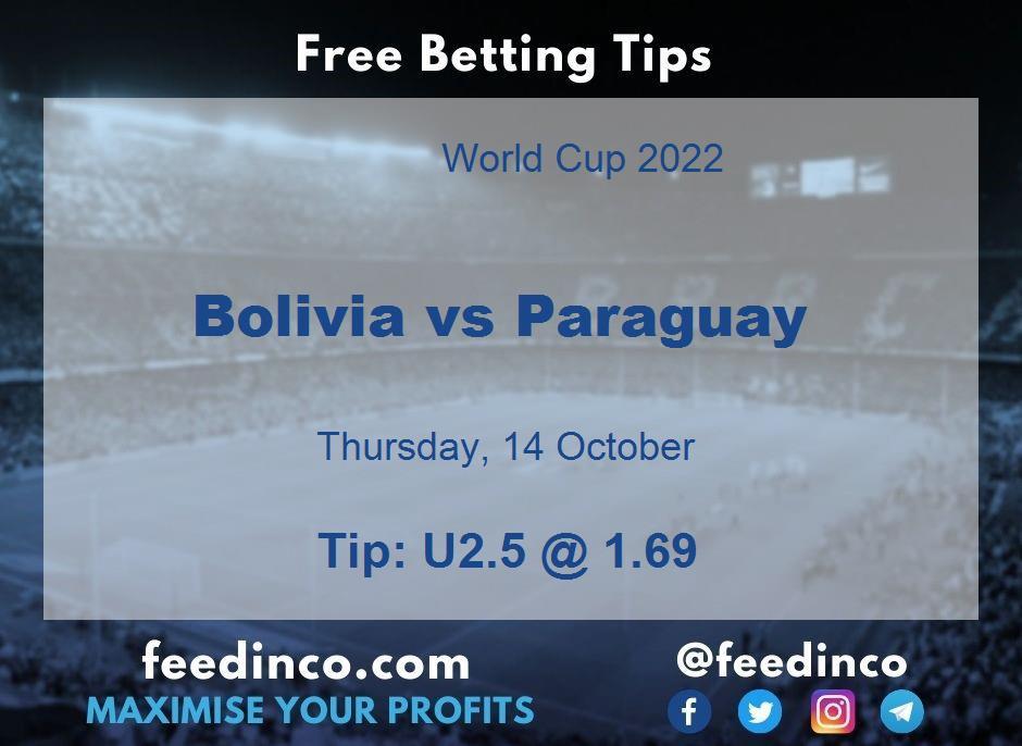 Bolivia vs Paraguay Prediction