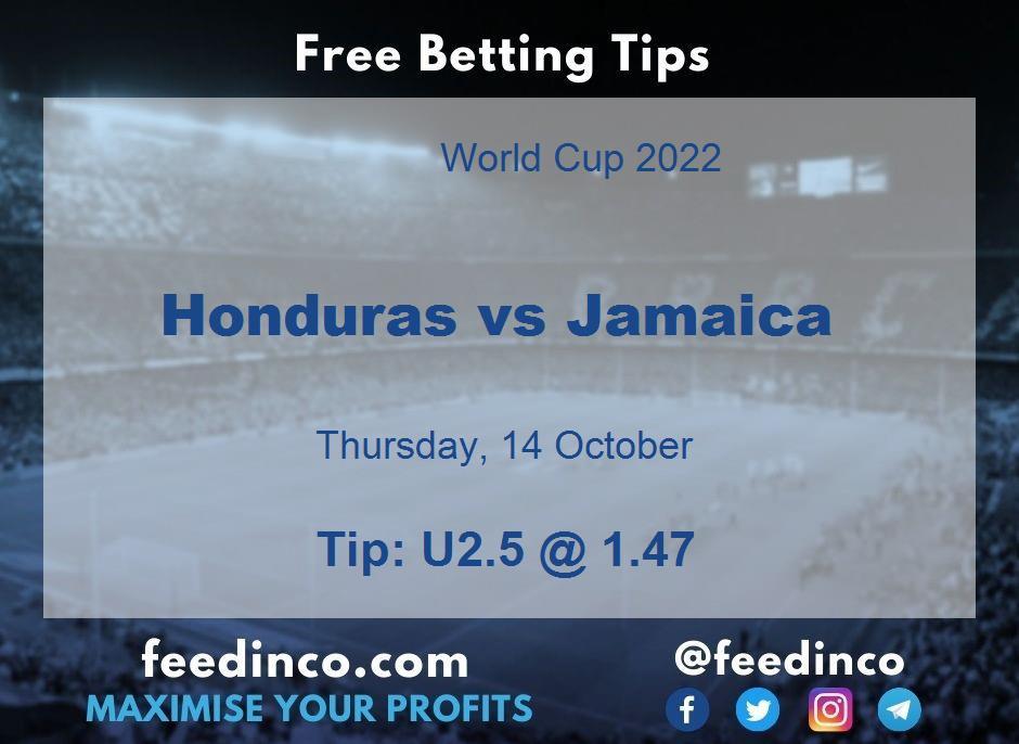Honduras vs Jamaica Prediction