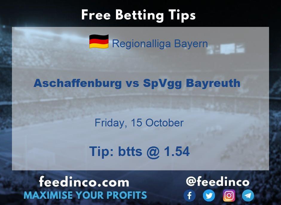 Aschaffenburg vs SpVgg Bayreuth Prediction