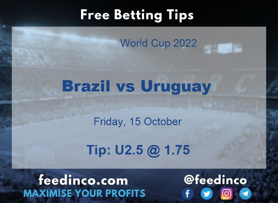 Brazil vs Uruguay Prediction