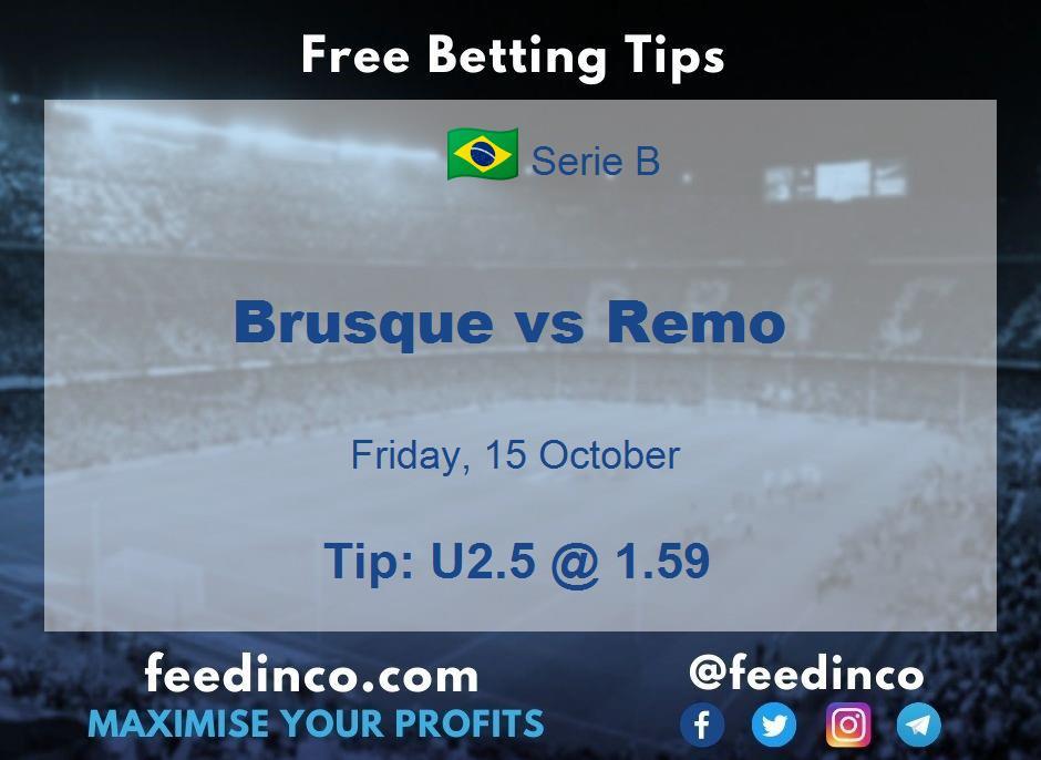 Brusque vs Remo Prediction
