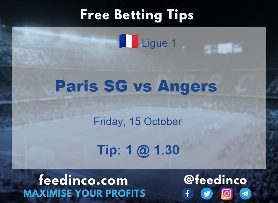Paris SG vs Angers Prediction