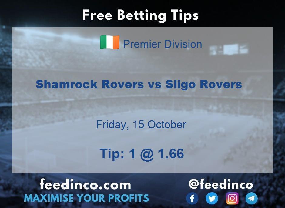 Shamrock Rovers vs Sligo Rovers Prediction