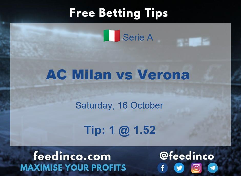 AC Milan vs Verona Prediction