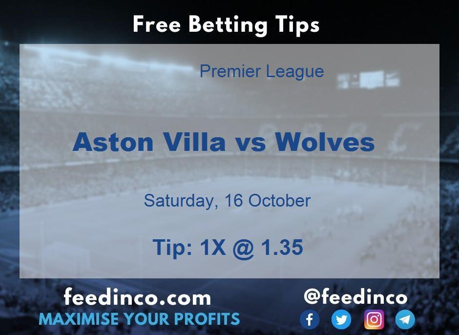 Aston Villa vs Wolves Prediction
