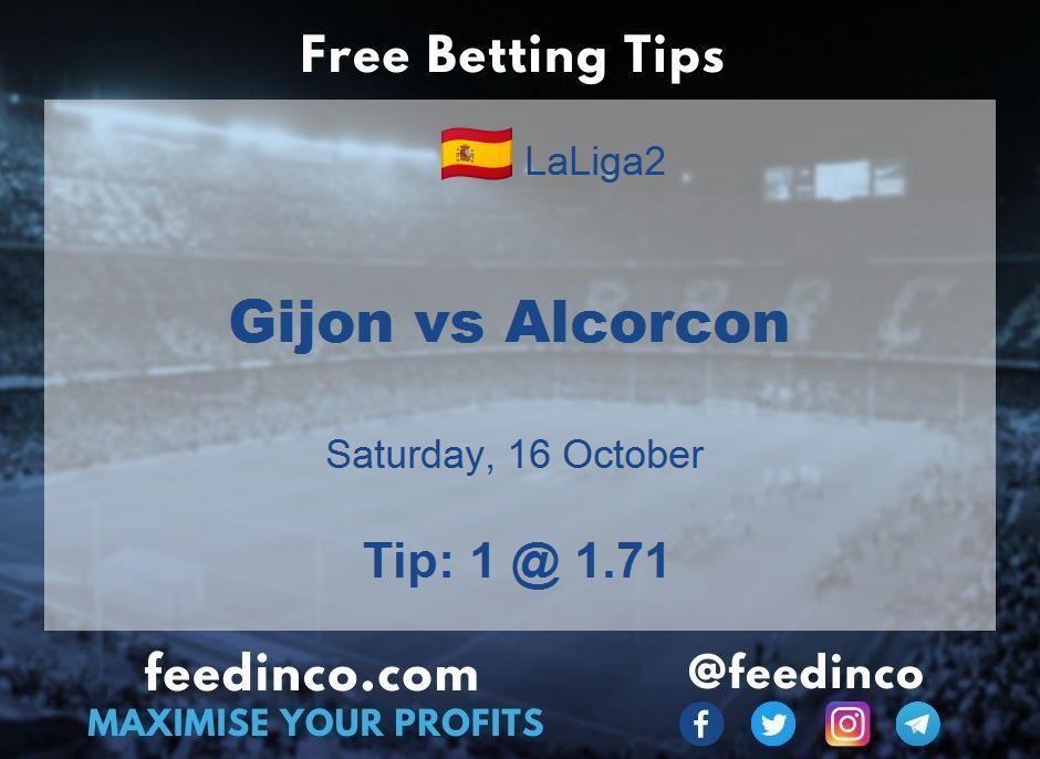 Gijon vs Alcorcon Prediction