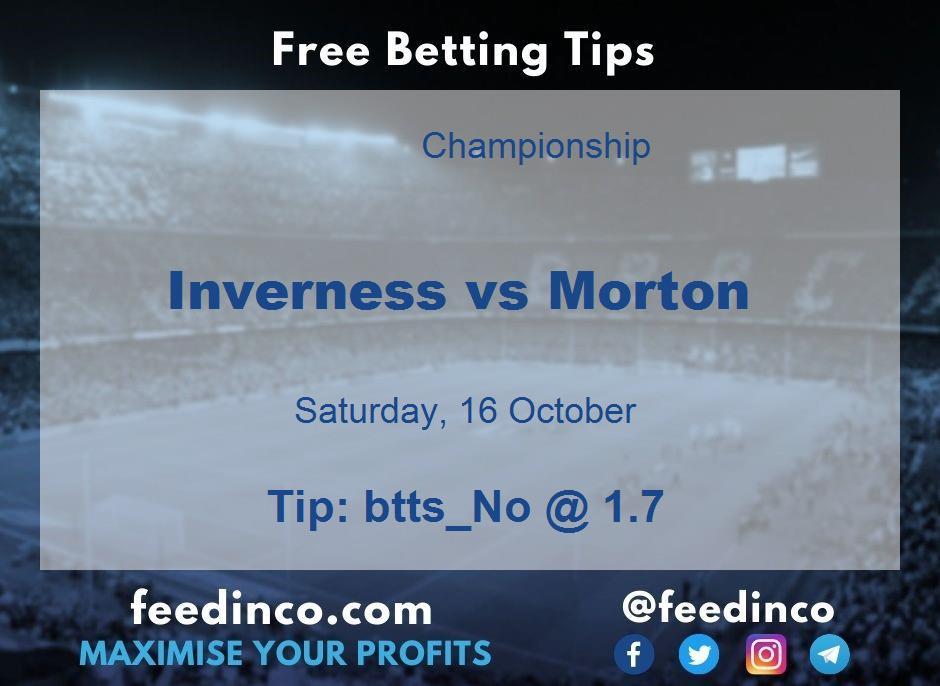 Inverness vs Morton Prediction