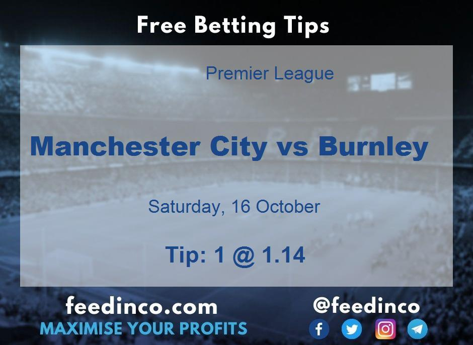 Manchester City vs Burnley Prediction