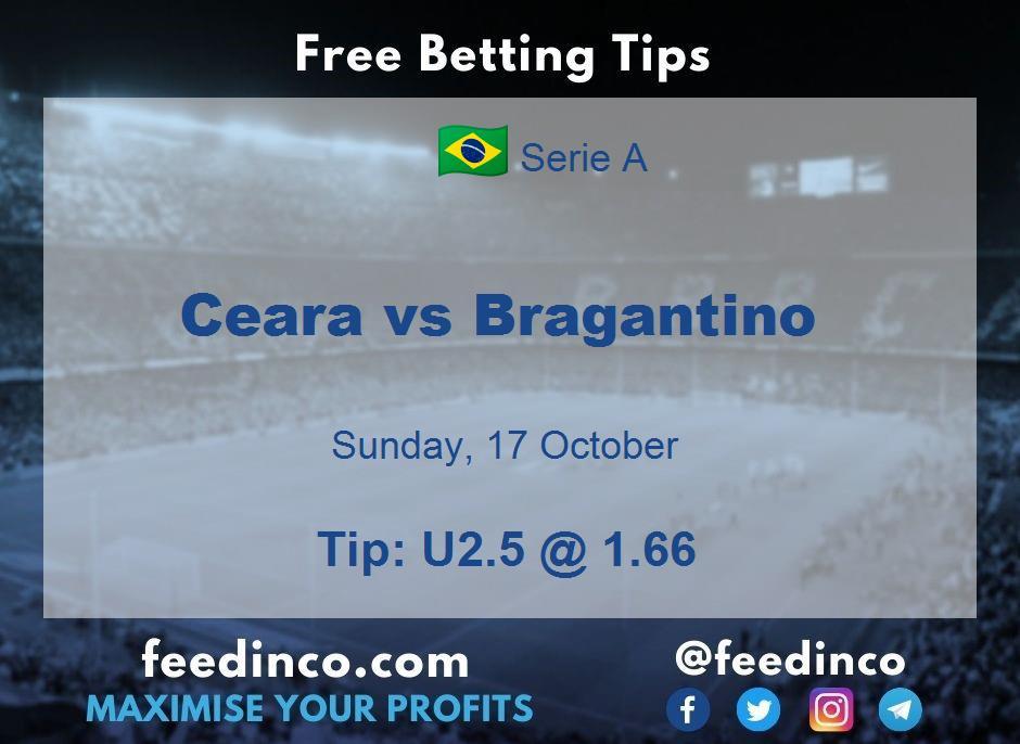 Ceara vs Bragantino Prediction