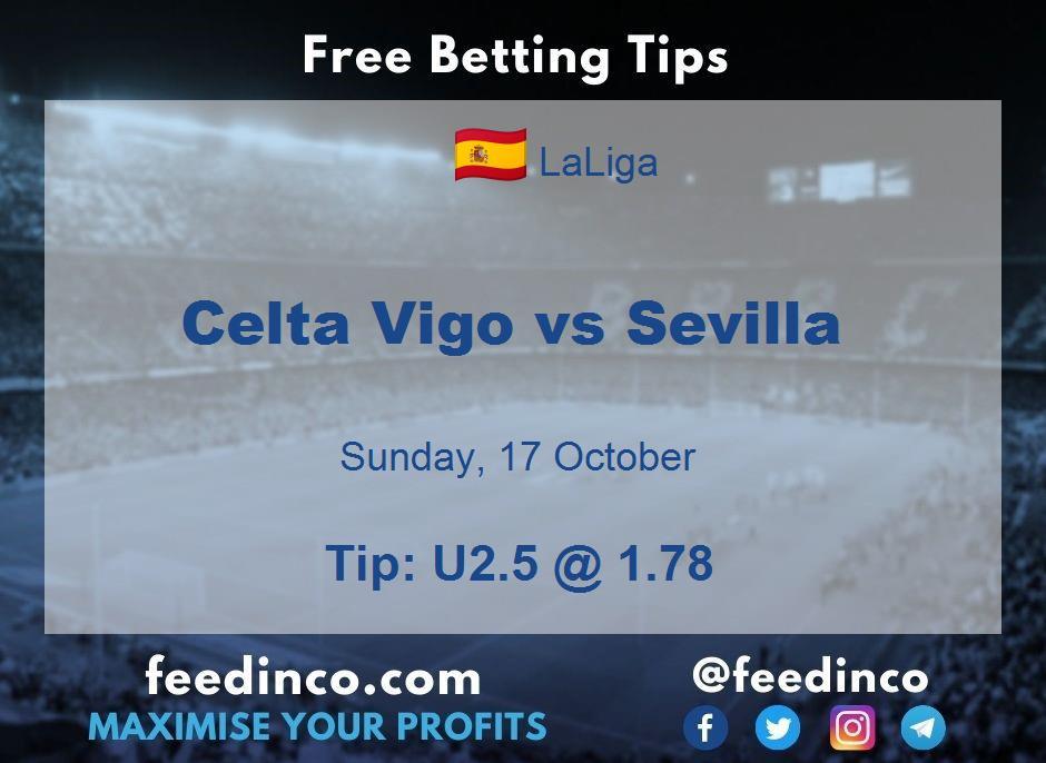 Celta Vigo vs Sevilla Prediction