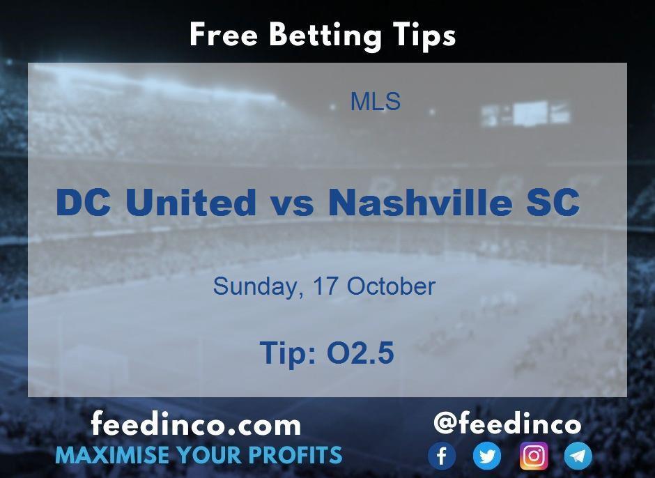 DC United vs Nashville SC Prediction
