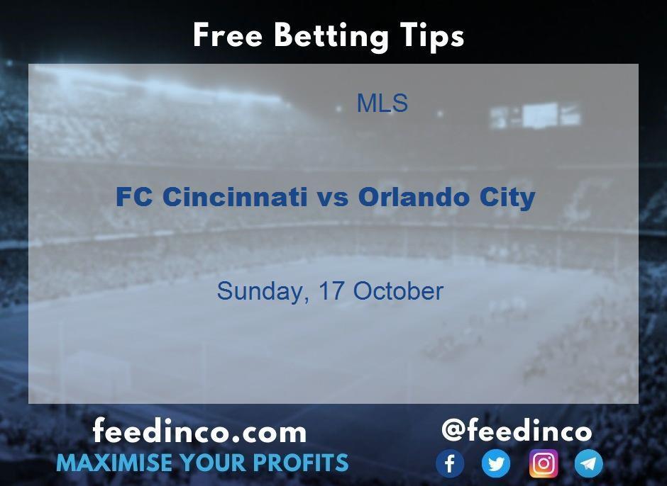 FC Cincinnati vs Orlando City Prediction