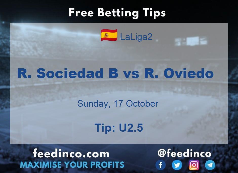 R. Sociedad B vs R. Oviedo Prediction