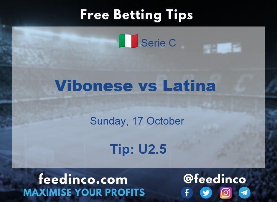 Vibonese vs Latina Prediction
