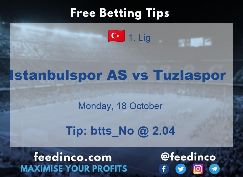 Istanbulspor AS vs Tuzlaspor Prediction