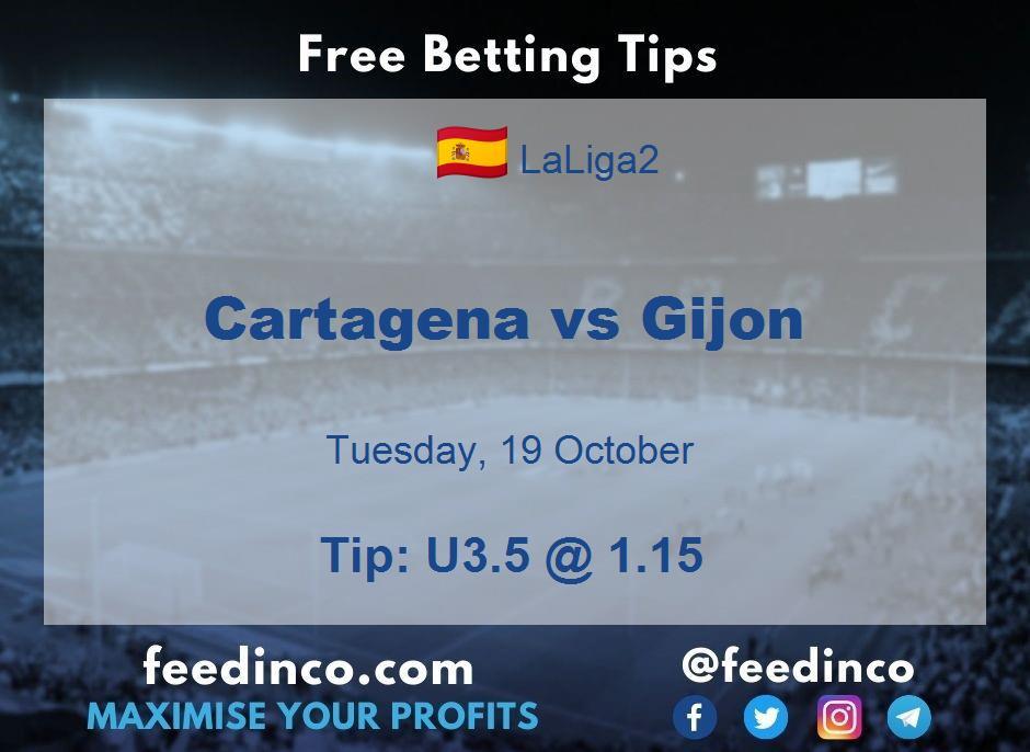 Cartagena vs Gijon Prediction
