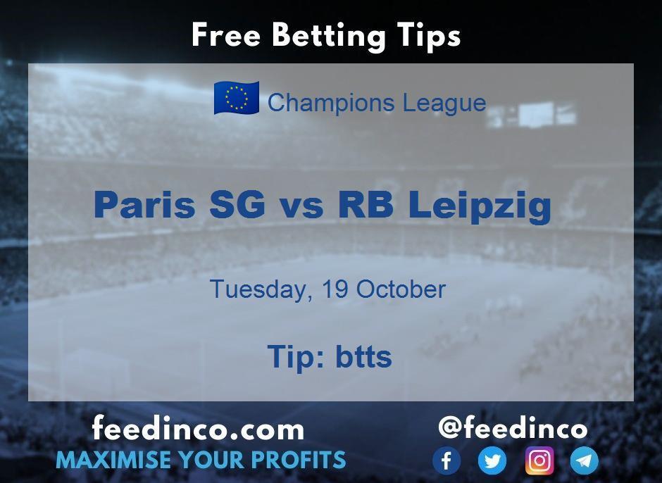 Paris SG vs RB Leipzig Prediction