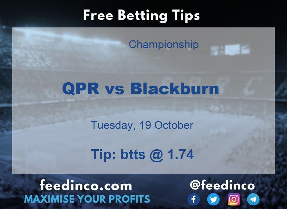 QPR vs Blackburn Prediction